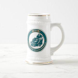THE ARMCHAIR QB - Miami 18 Oz Beer Stein