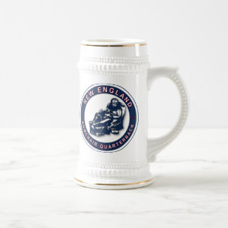 THE ARMCHAIR QB - New England Beer Stein