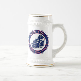 THE ARMCHAIR QB - New York Giants Beer Stein