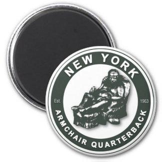 THE ARMCHAIR QB - New York JETS Refrigerator Magnets