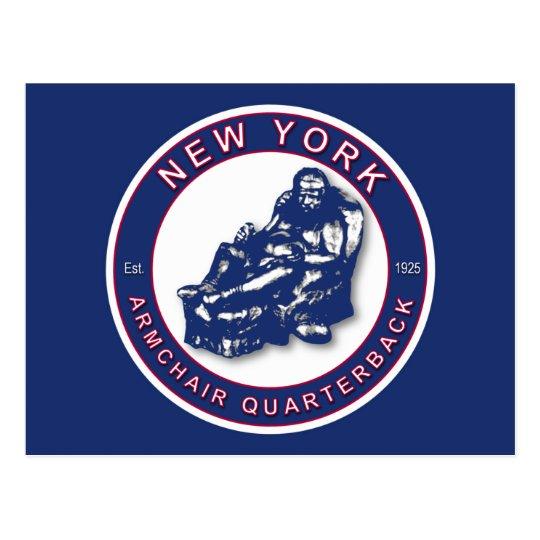 THE ARMCHAIR QB - New York Postcard