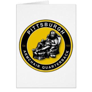 THE ARMCHAIR QB - Pittsburgh Card