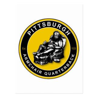 THE ARMCHAIR QB - Pittsburgh Postcard