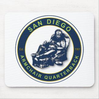 THE ARMCHAIR QB - San Diego Mouse Pad