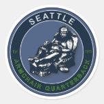 THE ARMCHAIR QB - Seattle Sticker