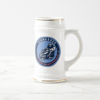 THE ARMCHAIR QB - Tennessee 18 Oz Beer Stein