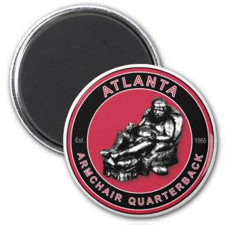 The Armchair Quarterback - Atlanta Football Magnet