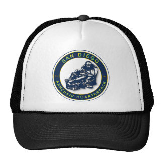 The Armchair Quarterback - San Diego Football Fans Trucker Hat