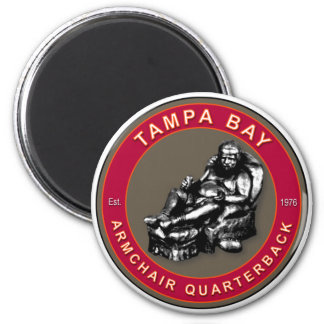 The Armchair Quarterback - Tampa Bay Football Magnet