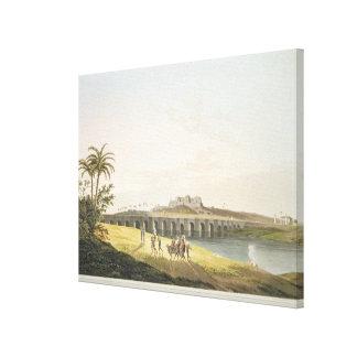 The Armenian Bridge, near St. Thomas's Mount, Madr Canvas Print