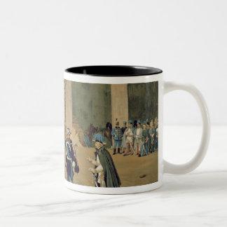 The Armistice of Vignale Two-Tone Coffee Mug