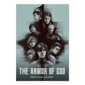 """""""The Armor of God"""" Characters Poster"""
