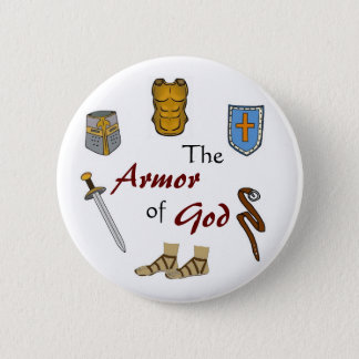 The Armor of God Pinback Button