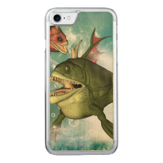 The armour fish carved iPhone 8/7 case