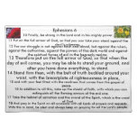 The Armour of God Placemats