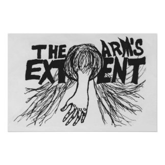 The Arm's Extent - Alternative Logo 2 Poster
