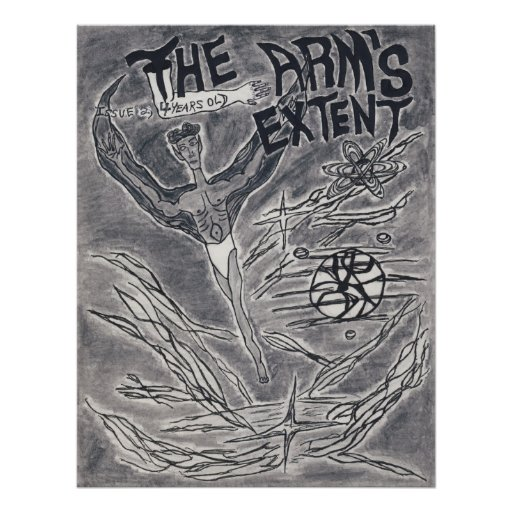 The Arm's Extent - Flying Man Poster