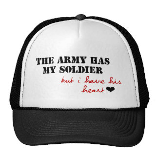 The Army has my Soldier, but I have his Heart Hat