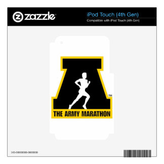 The Army Marathon Collection iPod Touch 4G Decal