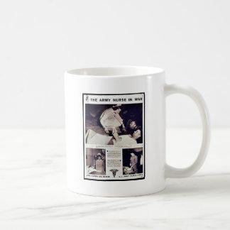 The Army Nurse In War Coffee Mugs