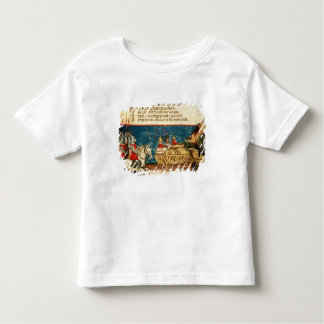 The Army of Charlemagne  and the Transportation Toddler T-shirt