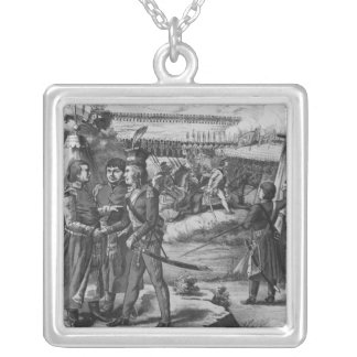 The army of Tadeusz Kosciuszko, 1794 Silver Plated Necklace