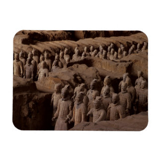 The Army of terra cotta warriors at Emperor Qin Magnet