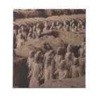 The Army of terra cotta warriors at Emperor Qin Notepad
