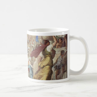 The Army Of The Franks Under Charlemagne In The Ci Coffee Mugs