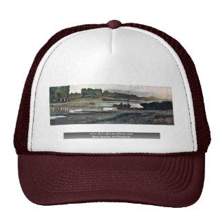 The Arno At Bellariva, By Fattori Giovanni Trucker Hat
