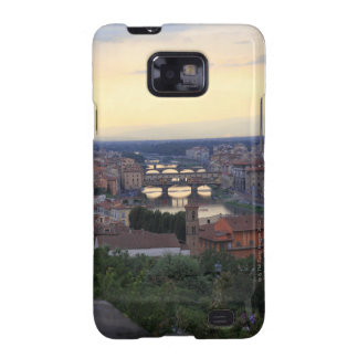 The Arno River and Ponte Vecchio in Florence, Samsung Galaxy S2 Case