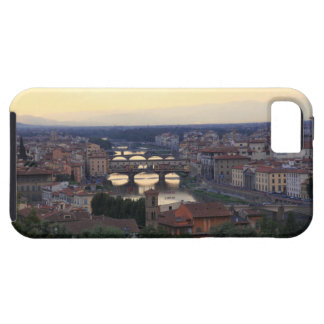 The Arno river and Ponte Vecchio in Florence, iPhone 5 Cases