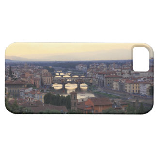 The Arno river and Ponte Vecchio in Florence, iPhone 5 Covers