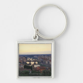 The Arno river and Ponte Vecchio in Florence, Key Chains