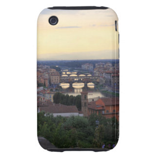 The Arno River and Ponte Vecchio in Florence, Tough iPhone 3 Covers