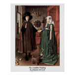 The Arnolfini Wedding By Johannes De Eyck Posters