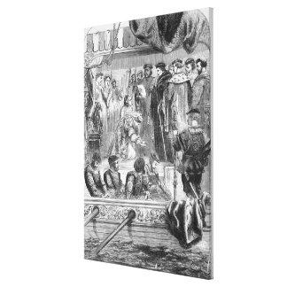 The Arrest of Anne Boleyn Canvas Print