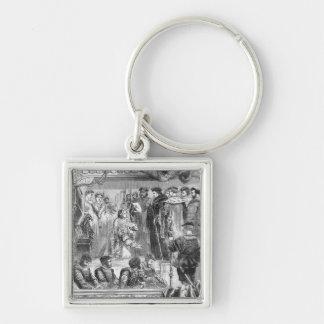The Arrest of Anne Boleyn Key Chains