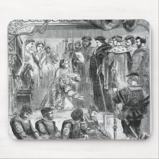 The Arrest of Anne Boleyn Mouse Pad