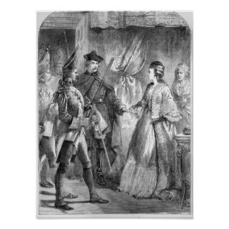 The Arrest of Caroline Matilda Poster