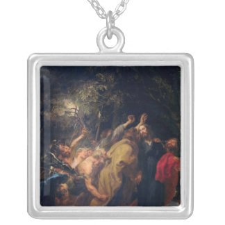 The Arrest of Christ in the Gardens, c.1628-30 Personalized Necklace