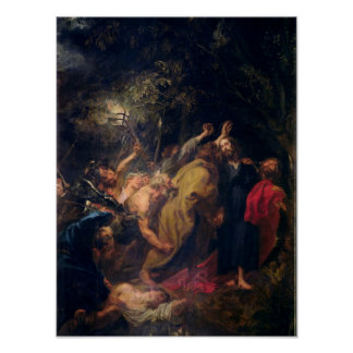 The Arrest of Christ in the Gardens, c.1628-30 Poster