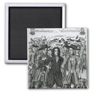 The Arrest of Judge Jeffreys  1689 Magnet