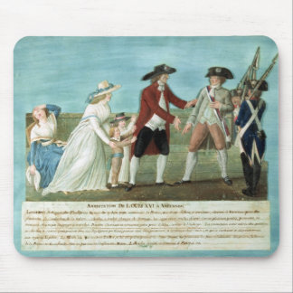 The Arrest of Louis XVI and his family Mouse Pad
