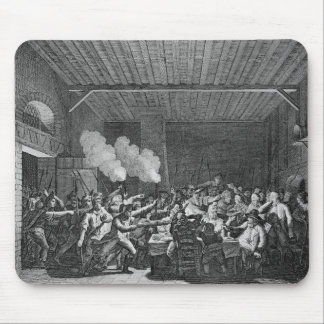 The Arrest of Louis XVI  at Varennes Mouse Pad