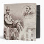 The Arrest of Mr. C.S. Parnell, MP 3 Ring Binder