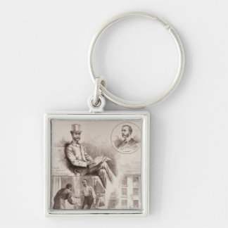 The Arrest of Mr. C.S. Parnell, MP Key Chain