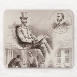 The Arrest of Mr. C.S. Parnell, MP Mouse Pad