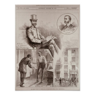 The Arrest of Mr. C.S. Parnell, MP Poster
