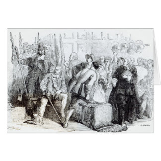The Arrest of Nonconformists Greeting Card